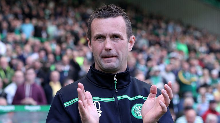 Ronny Deila won two titles in his time in the Celtic hotseat