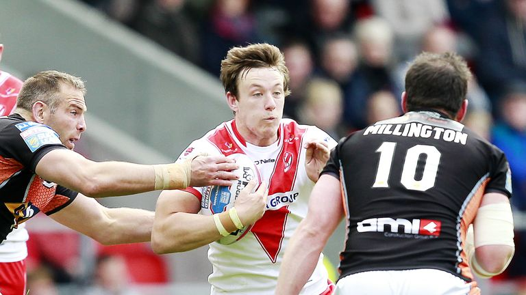 Matty Fleming has joined London from St Helens
