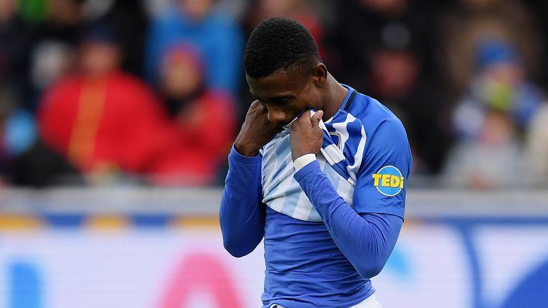 Salomon Kalou got his name on the scoresheet for Hertha against Hannover