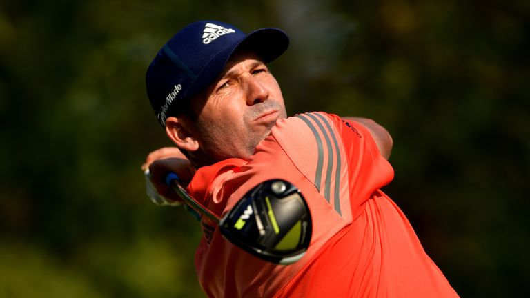 Sergio Garcia mixed six birdies with a sole blemish