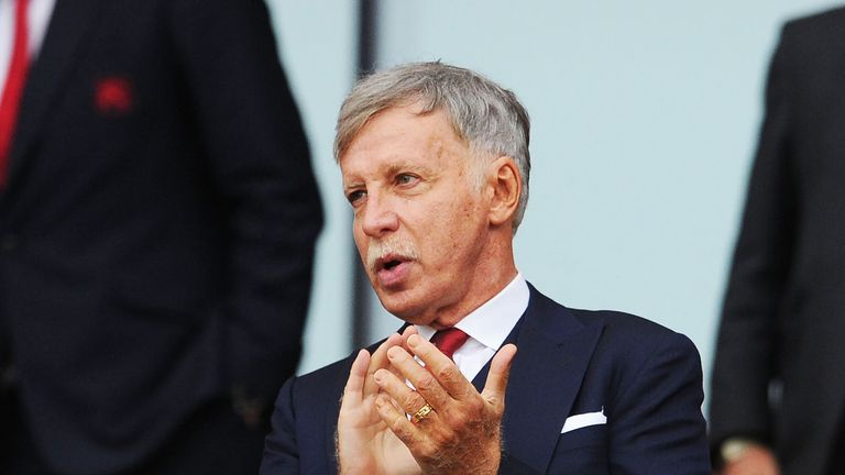 Stan Kroenke insists he is fully committed to Arsenal and has never considered selling his share in the club