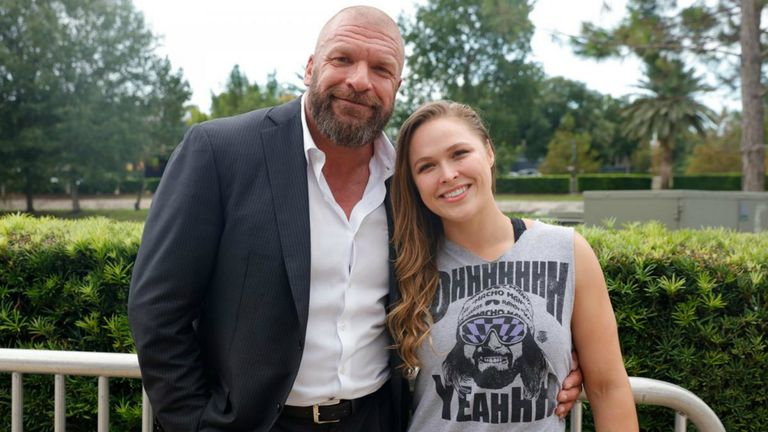Triple H has previously spoken of his desire to take Ronda Rousey to WWE