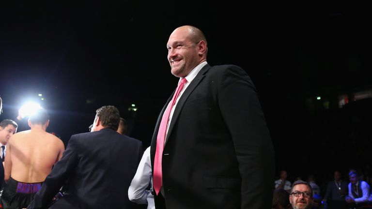 Tyson Fury insists he will be ready to return to the boxing ring next April