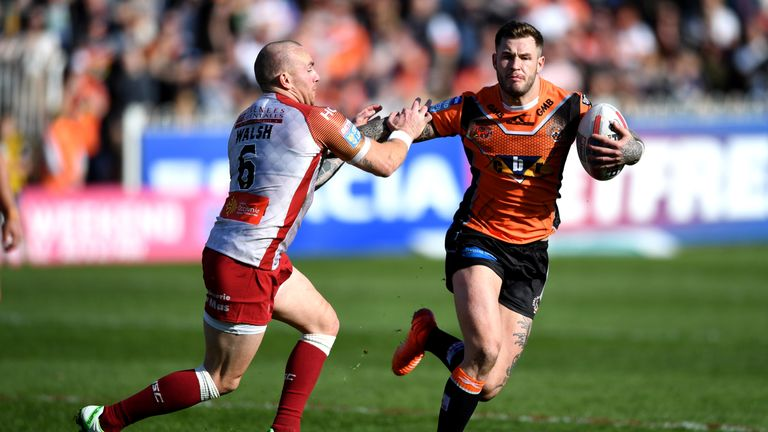 Castleford Tigers sack Zak Hardaker after failed drugs test