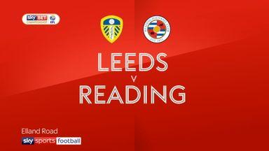Leeds 0-1 Reading