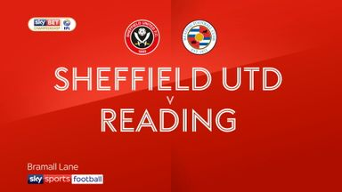 Sheffield United 2-1 Reading