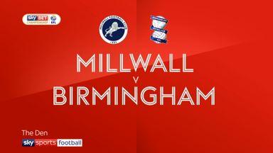 Millwall 2-0 Birmingham