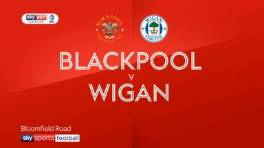 Blackpool 1-3 Wigan