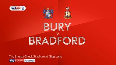 Bury 3-1 Bradford