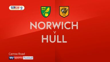 Norwich 1-1 Hull