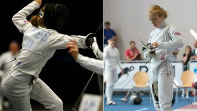 Fencing is crucial in modern pentathlon and Francesca Summers' favourite event