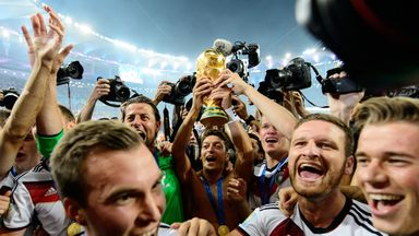 World Cup holders Germany remain top of FIFA's rankings