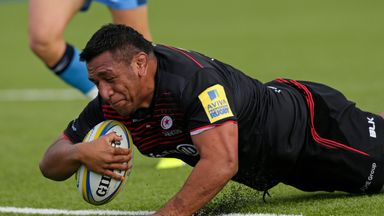 Saracens will look to bounce back from the weekend defeat to Harlequins when they take on Clermont