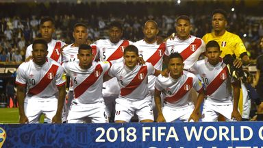 Peru reached their first World Cup since 1982