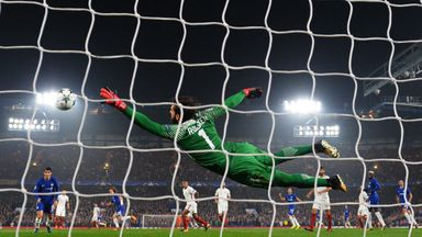 Roma and Chelsea fought out a thrilling 3-3 draw on Wednesday night