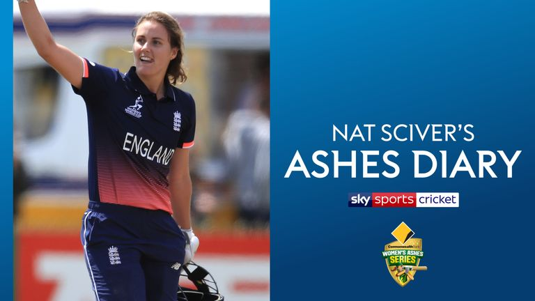 Nat Sciver's Ashes Diary