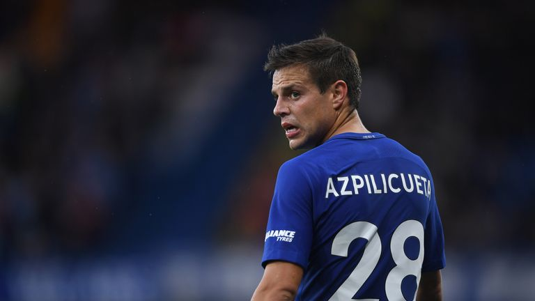 Cesar Azpilicueta is concerned by Chelsea's recent run of form.