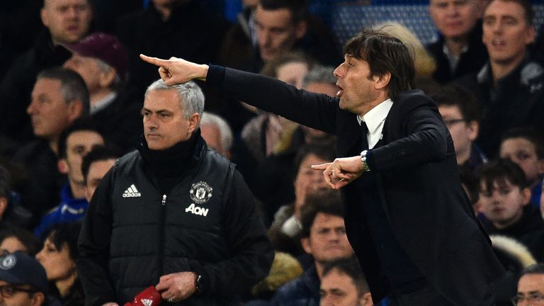 Antonio Conte has hit back at Jose Mourinho's comments about Chelsea's injury situation