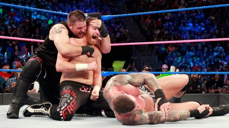 Kevin Owens and Sami Zayn teamed up on Samckdown