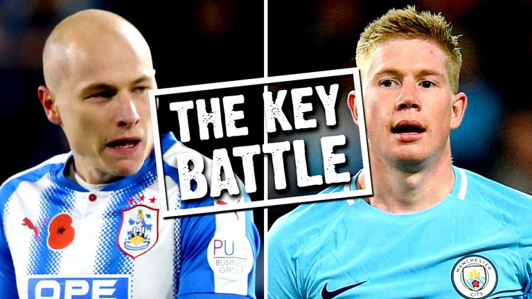 Aaron Mooy and Kevin De Bruyne go head to head on Sunday