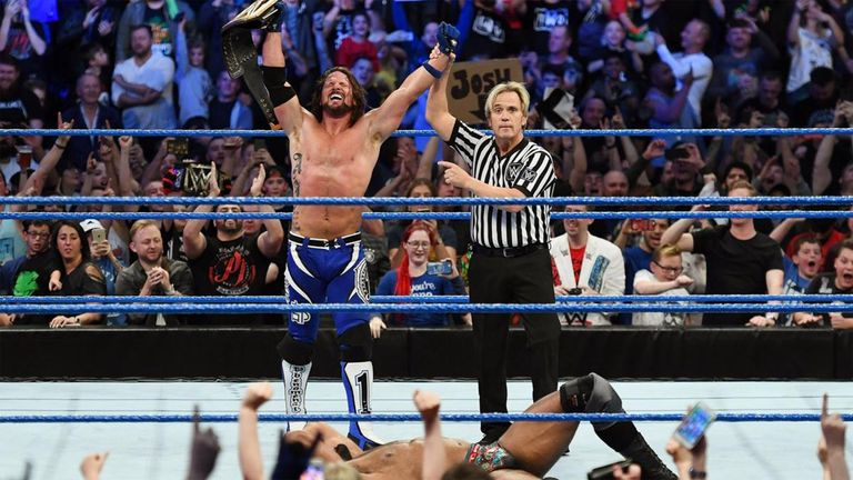AJ Styles keeps dream match intact at WWE Fastlane