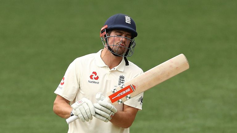 Alastair Cook has struggled for form so far on England's Ashes tour