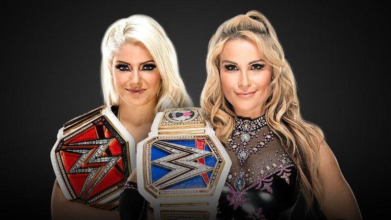 Raw women's champion Alexa Bliss will face SmackDown title holder Natalya at Survivor Series