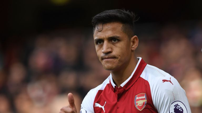 Alexis Sanchez is close to a suspension for Arsenal