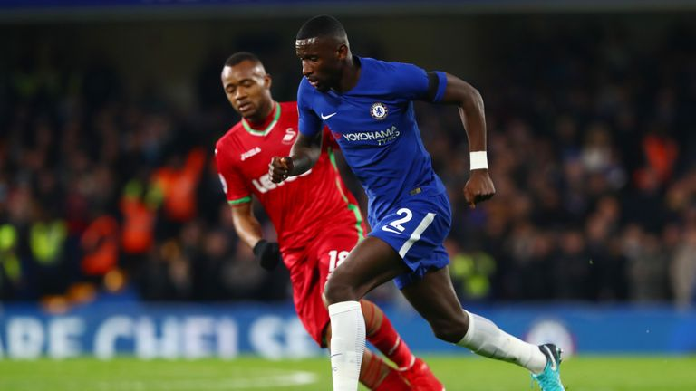 Antonio Rudiger was a solid replacement for the rested Cesar Azpiliceuta