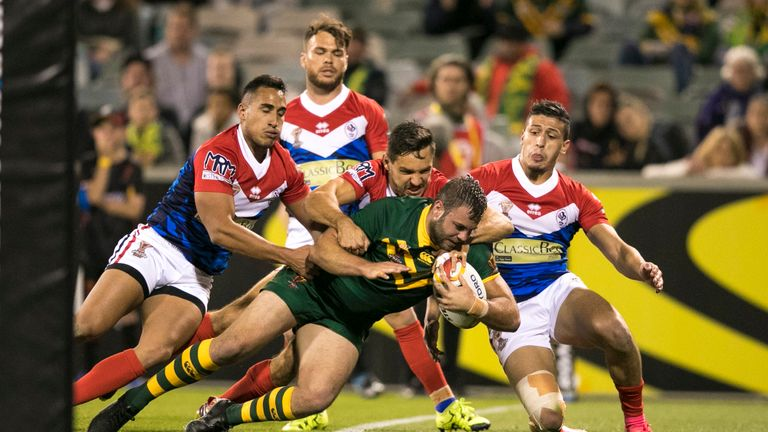 France were defeated 52-6 by Australia in their last outing