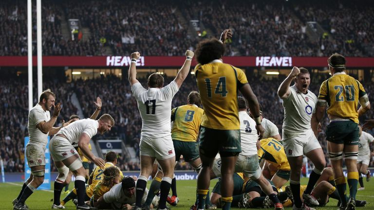 England and Australia set for clash of the titans at Twickenham