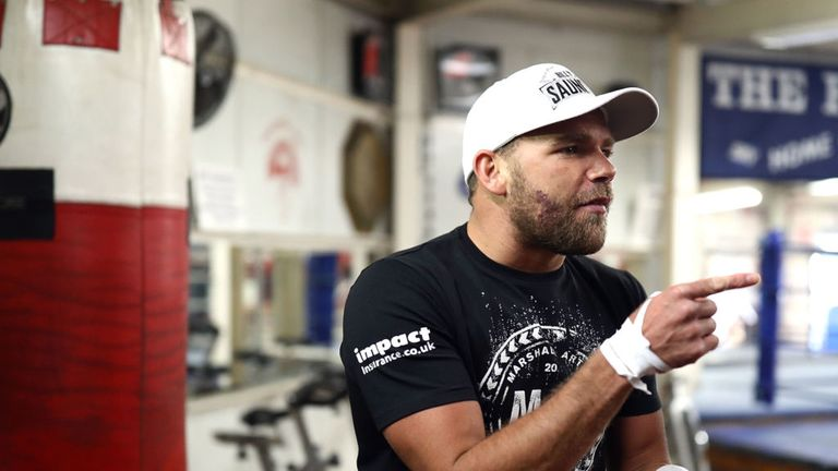 Saunders is seeking a future fight with 'GGG'