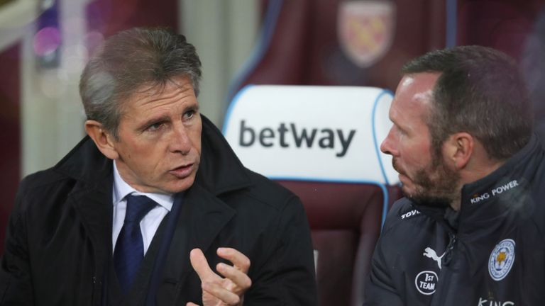 Claude Puel comments on returning to Southampton with Leicester City