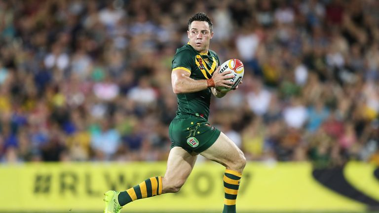Australia's Cooper Cronk has been in fine form this tournament
