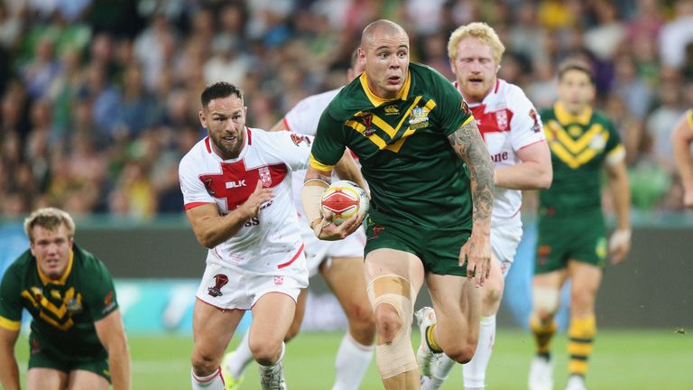 Australia's David Klemmer is free to face Samoa in the World Cup quarter-final