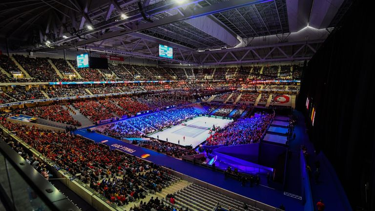 The Stade Pierre-Mauroy is hosting the Davis Cup final this year