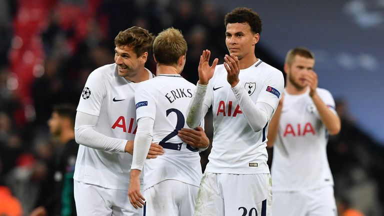 Tottenham's Dele Alli ranks second in the Premier League for sprints