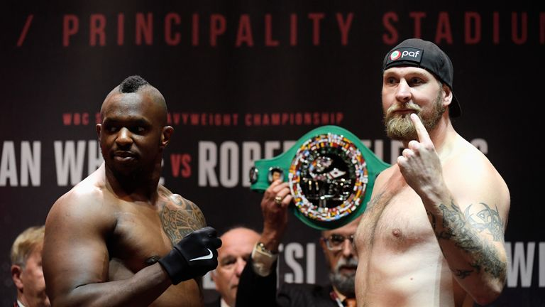 The 'Body Snatcher' boosted his world ranking with a win over Robert Helenius