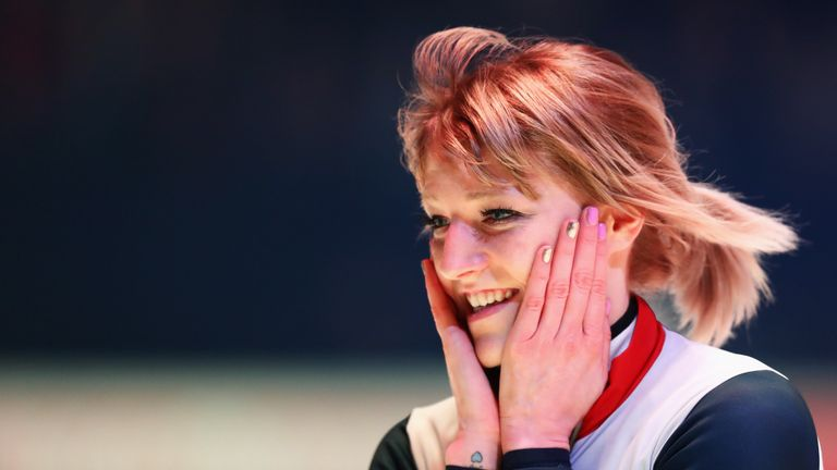 Christie was crowned triple world champion in the Netherlands in March