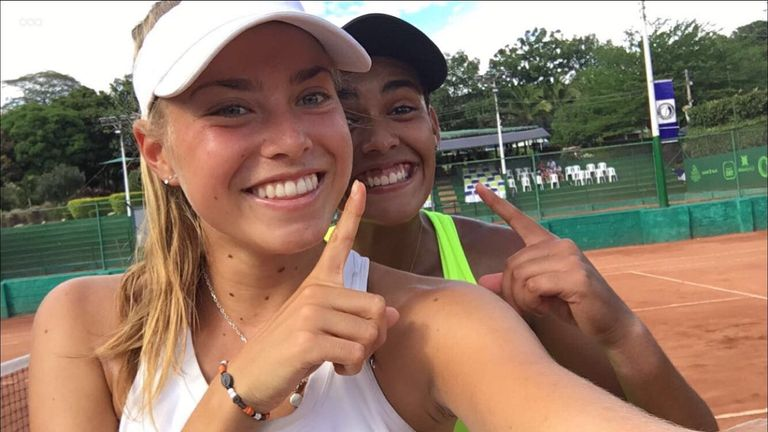 A third Pro doubles title and a first Pro singles final made it a fine trip for Emily