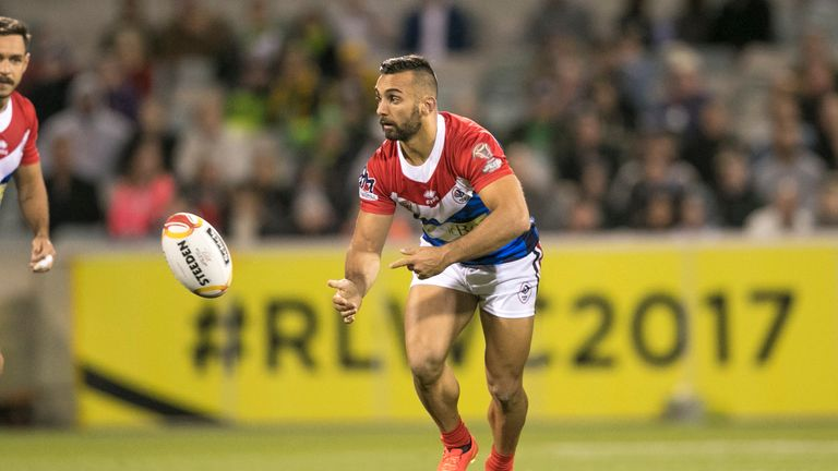 Eloi Pelissier had featured in both of France's World Cup games so far