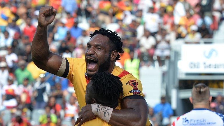 PNG will give winger Garry Lo a late fitness check ahead of Sunday's quarter-final with England