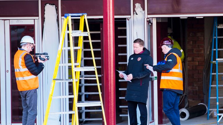 Hearts hope for third time lucky with Tynecastle stadium