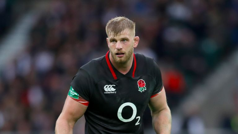 George Kruis has been left out of England's squad to face Australia