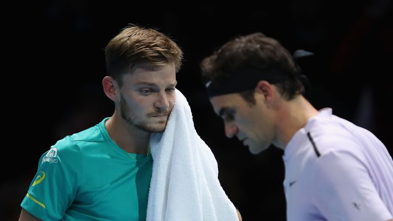 David Goffin stuns Roger Federer for career-best result — ATP Finals