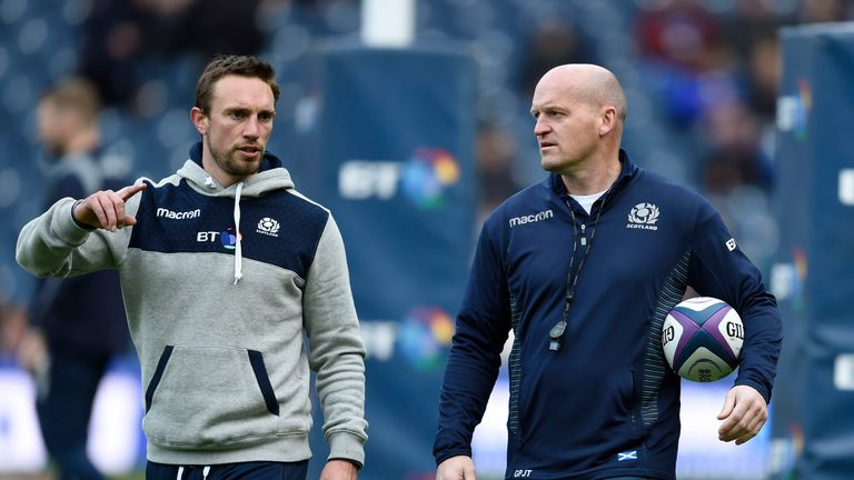 Scotland rings the changes for Wallabies clash