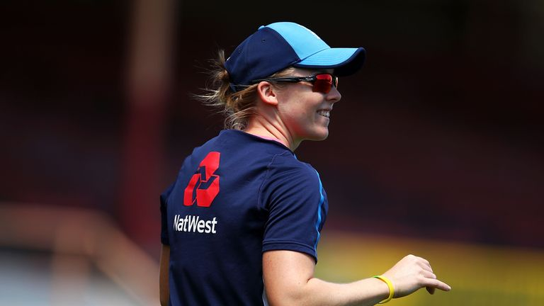 England captain Heather Knight was awarded an OBE in the New Year's Honours
