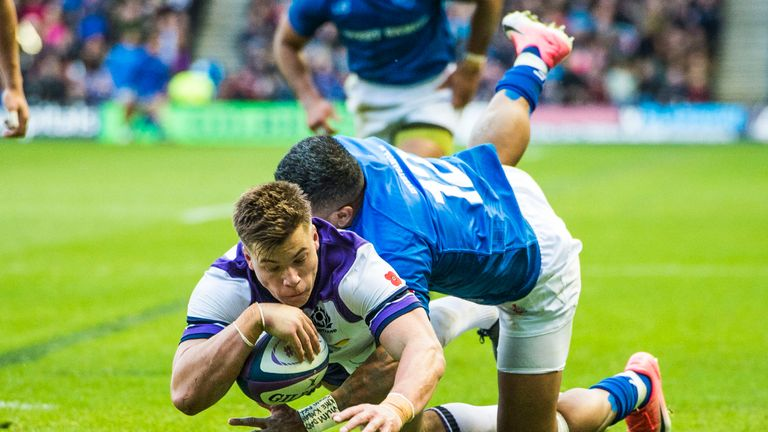 Samoa were beaten by Scotland in their first outing of the autumn two weeks ago