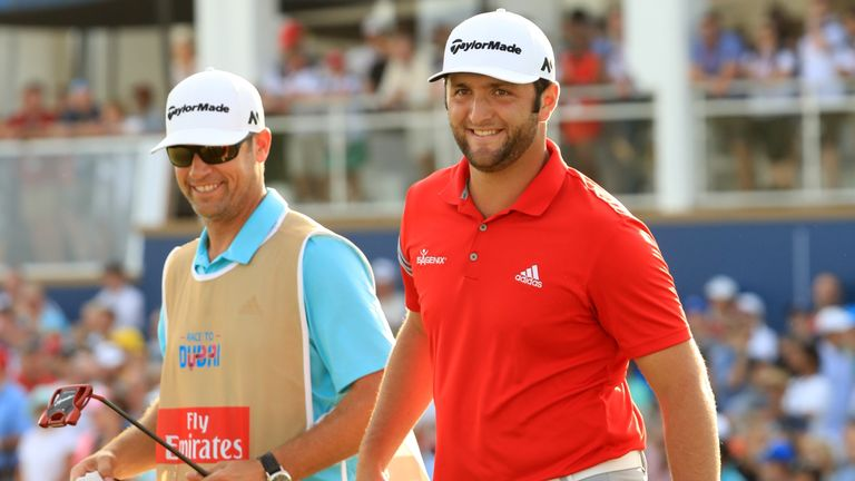 Jon Rahm has raced to second in the world rankings less than 20 months after turning professional