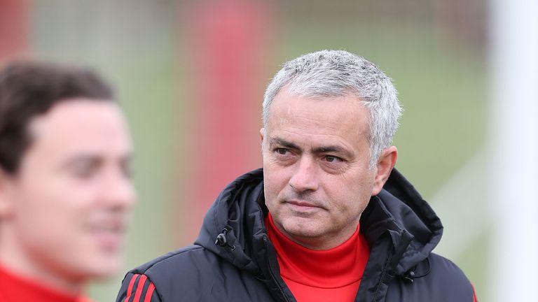Mourinho's team take on Brighton at Old Trafford on Saturday